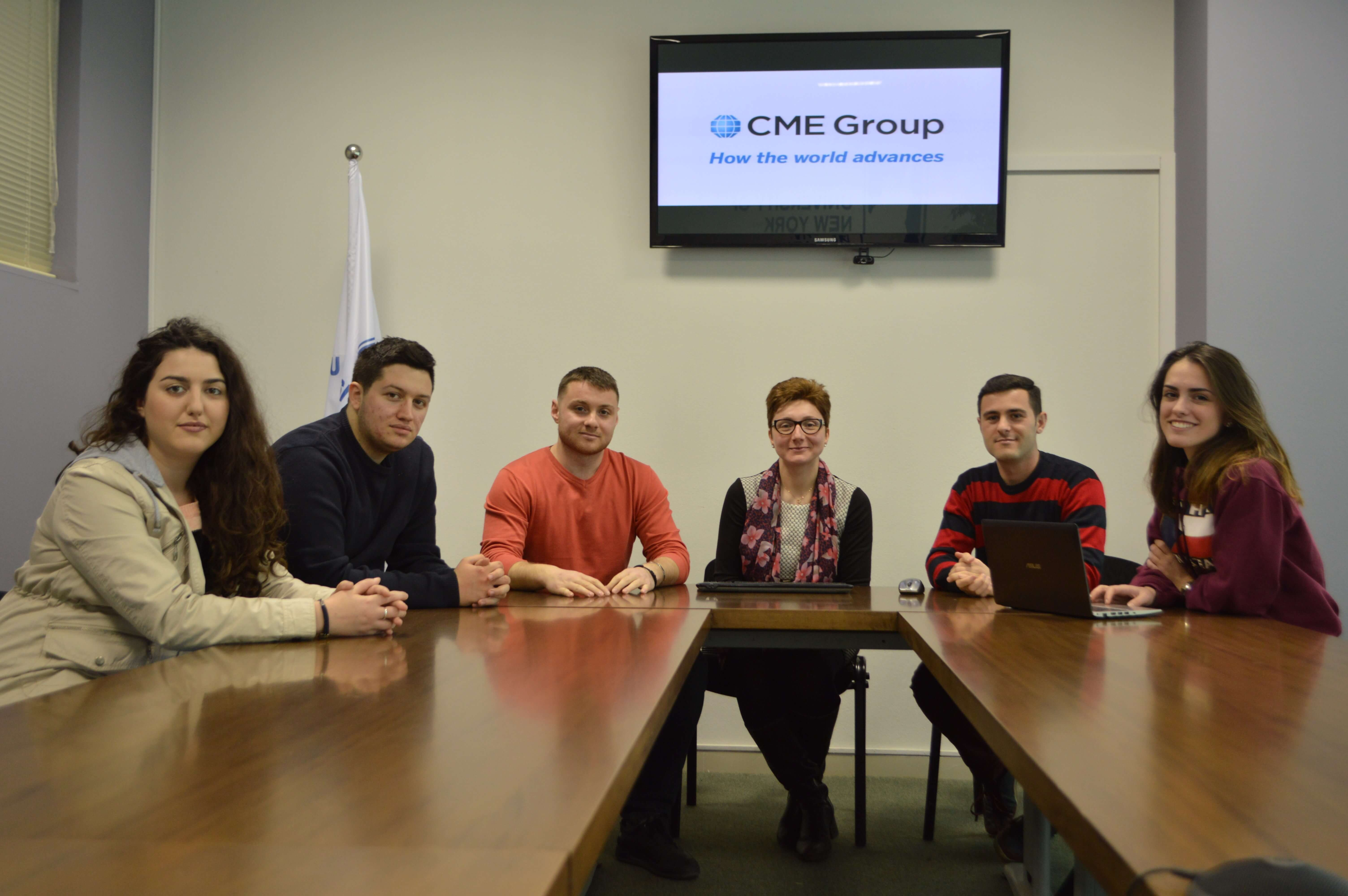 UNYT teams participated at the Chicago Mercantile Exchange