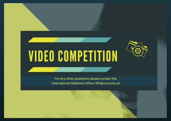 UNYT Competition for the Best Student Video on UNYT`s Life!