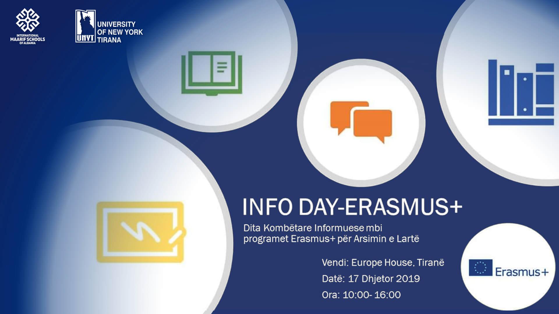Info Day – Erasmus+