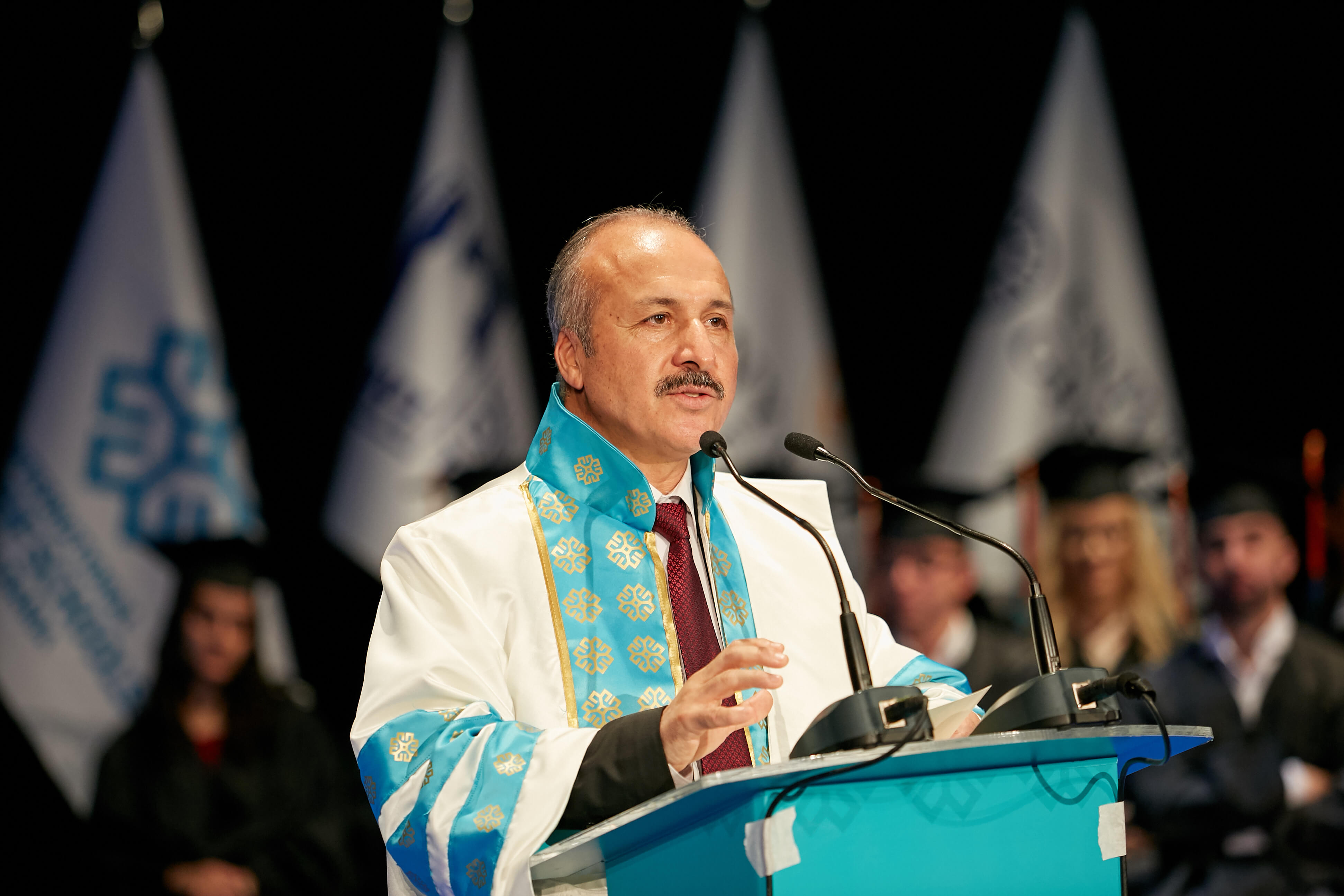 Commencement speech by Prof.Dr Ismail Kocayusufoğlu, Rector of the University of New York Tirana