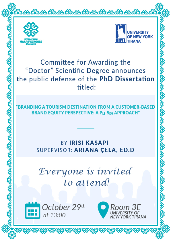 Dissertation Defence – Irisi Kasapi