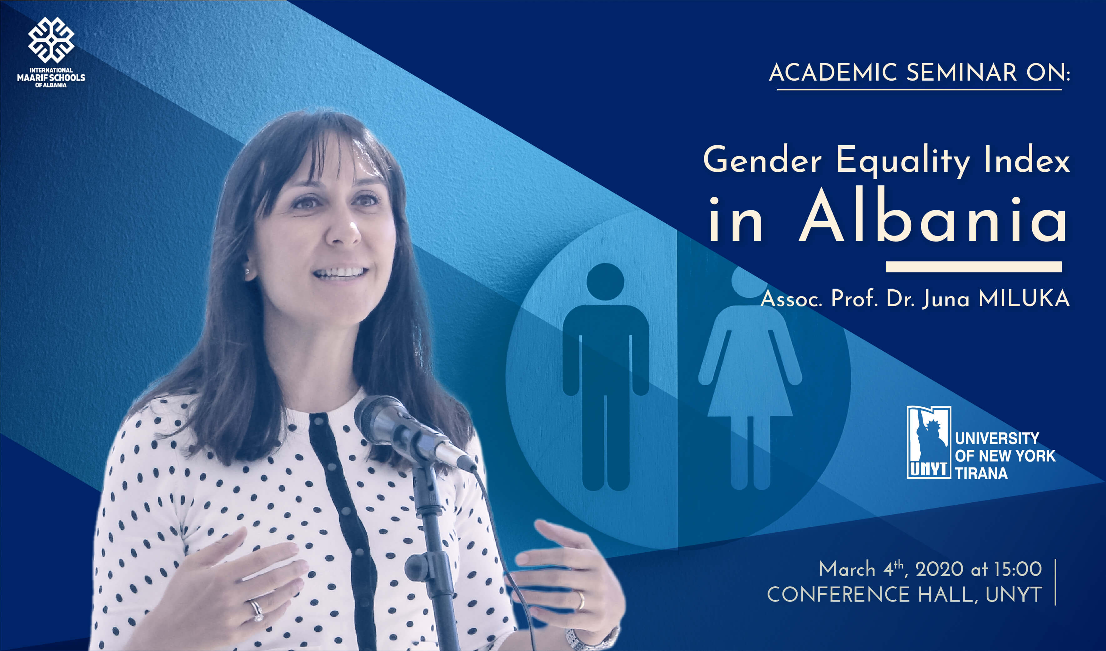 """""""Gender Equality Index in Albania"""" by Assoc. Prof. Dr. Juna Miluka"""