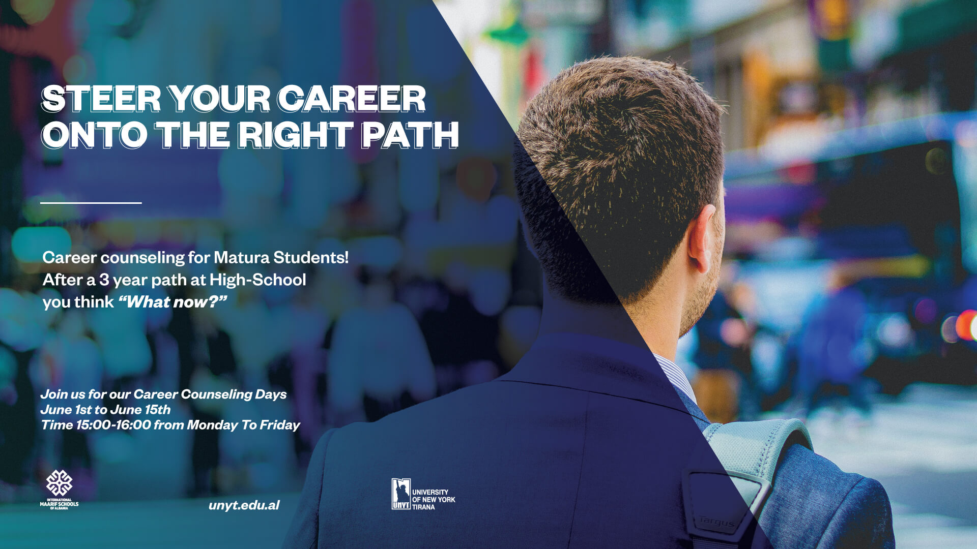 Career counselling for Matura Students!