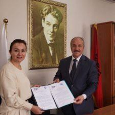 University of New York Tirana and Aleksandër Moisiu University signed a memorandum of understanding
