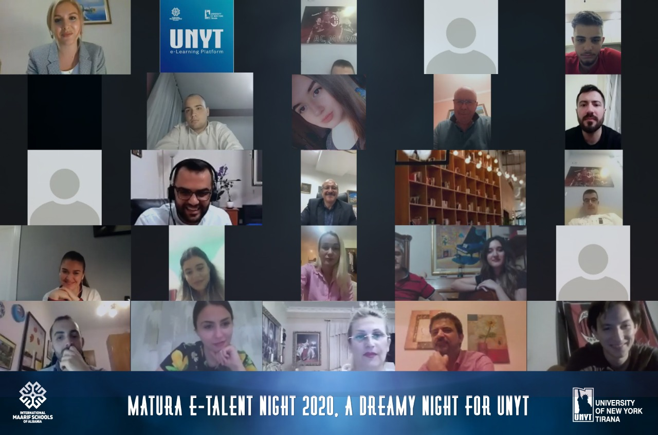 E-TALENT NIGHT 2020, A DREAMY NIGHT FOR UNYT