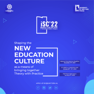 Shaping the new Education Culture as a means of bringing together Theory with Practice   iSC'22