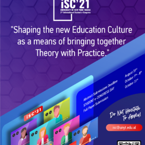 Shaping the new Education Culture as a means of bringing together Theory with Practice | iSC'21