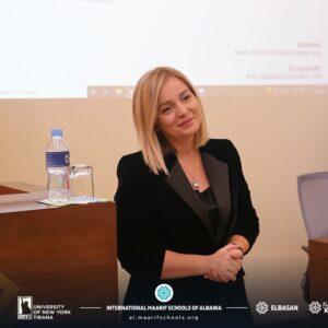Dissertation Defense of Marjana Prifti-Skënduli